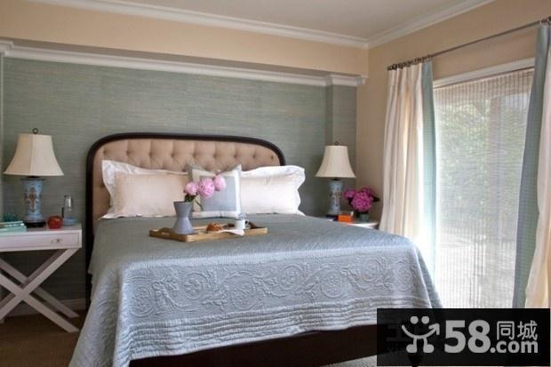 欧式卧室油画