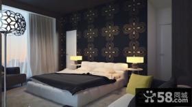 80平米小户型卧室壁纸装修效果图