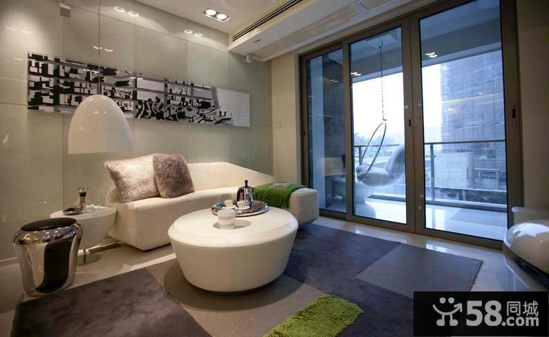 简约创意两厅一室设计装修效果图