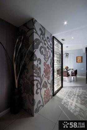 现代风格二居客厅电视背景墙效果图片