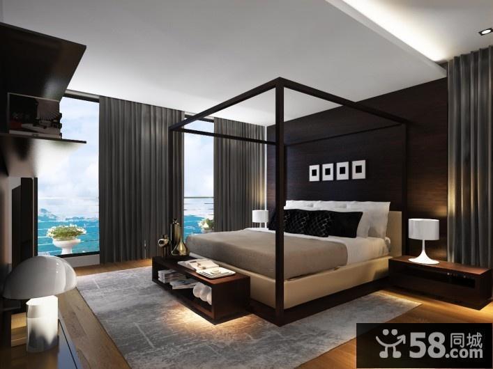 美式风格卧室吊灯图片欣赏
