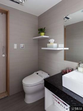 4平米时尚家装卫生间装修设计图片