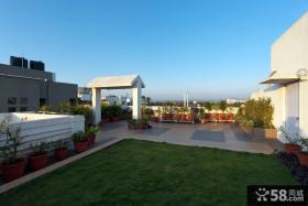 屋顶花园效果图片