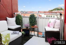 60平小户型北欧风格客厅装修效果图