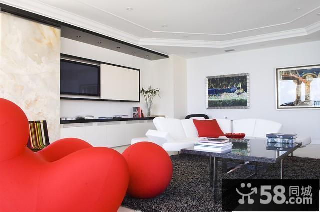 卧室与客厅隔断墙设计