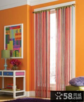 窗户窗帘图片