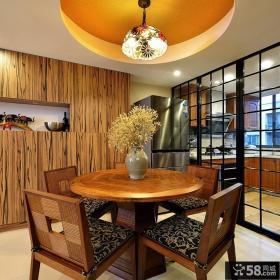 东南亚风格精致餐厅设计