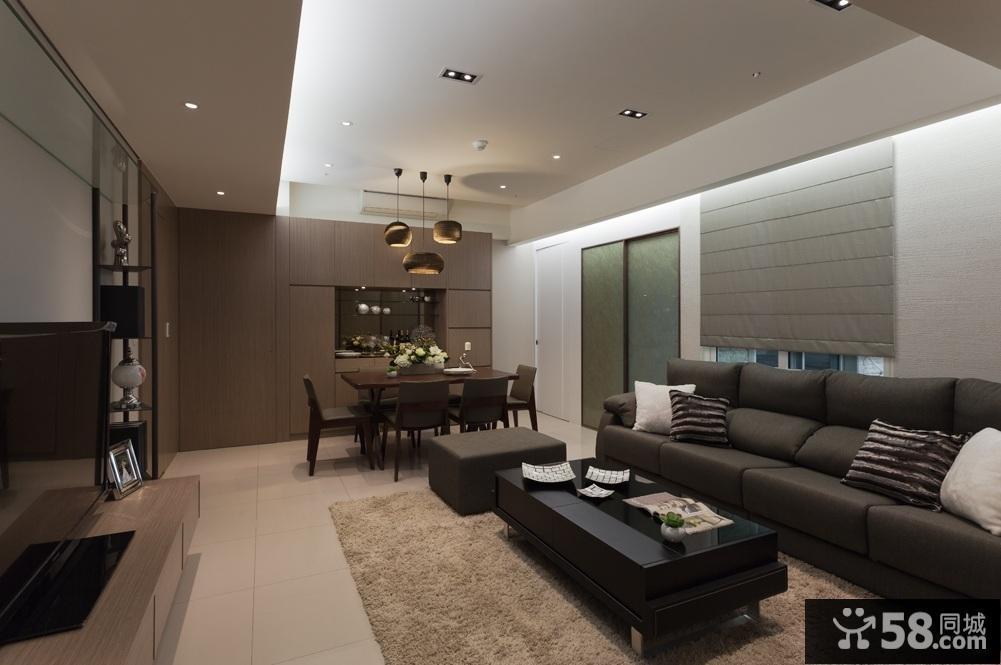 复式楼客厅吊灯效果图