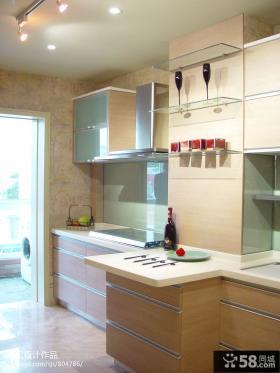 东南亚风格整体厨房装修效果图欣赏