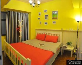 东南亚风格儿童房间布置效果图