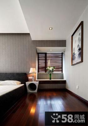 典雅简中式卧室装饰