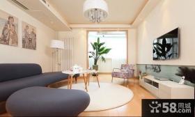 日式家装设计客厅图片