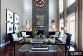客厅装修效果图2012