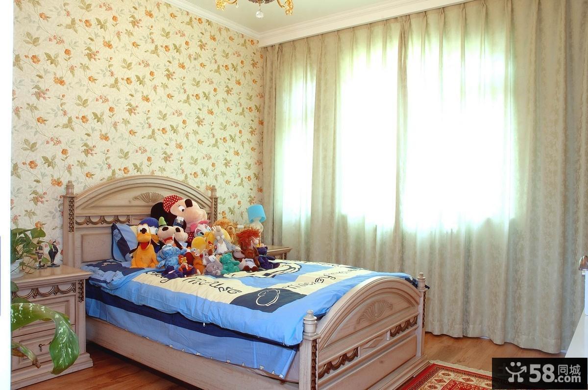 儿童卧室装修效果图片