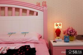 现代女生儿童房壁纸装修效果图