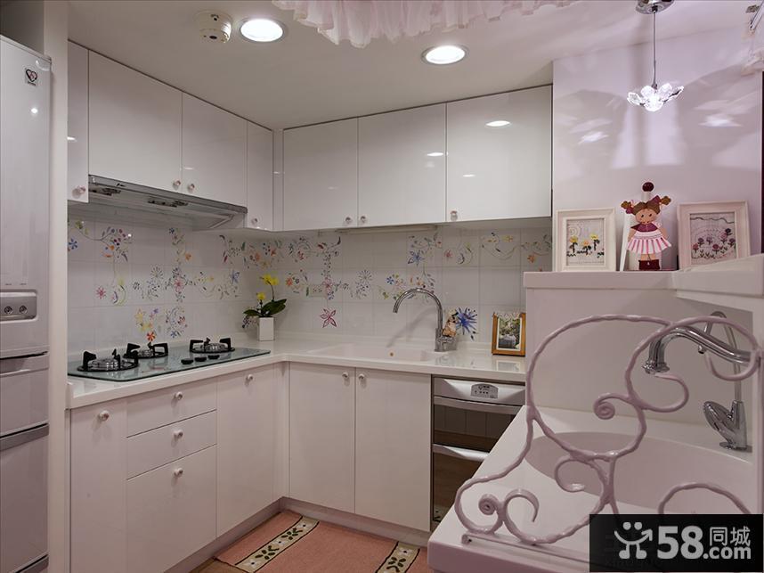欧式2013风格厨房橱柜效果图欣赏