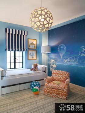别墅走廊过道壁画装修效果图