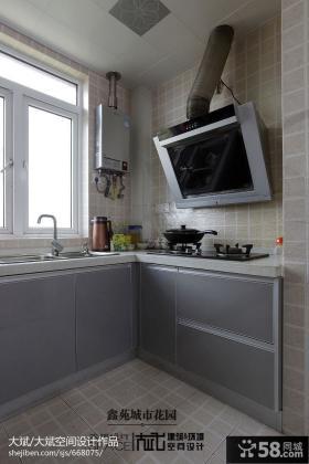 现代风格小厨房装修效果图2013