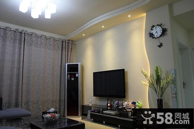简欧沙发背景墙装修效果图大全