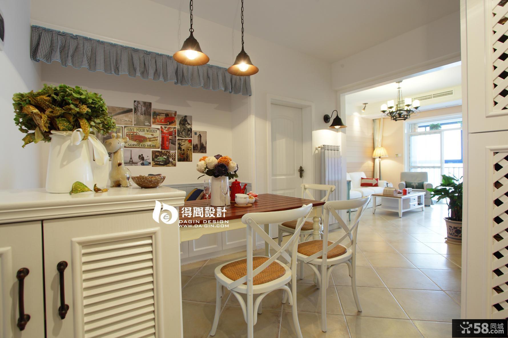 田园风格家装小餐厅效果图欣赏