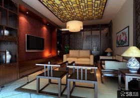 2013最新客厅背景墙装修效果图片