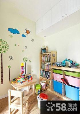 儿童房组合家具图片大全2014