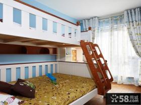 现代简约儿童房家居效果图