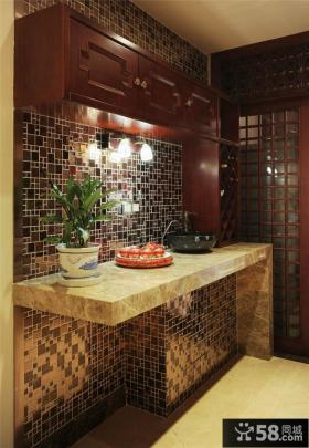厨房瓷砖效果图片