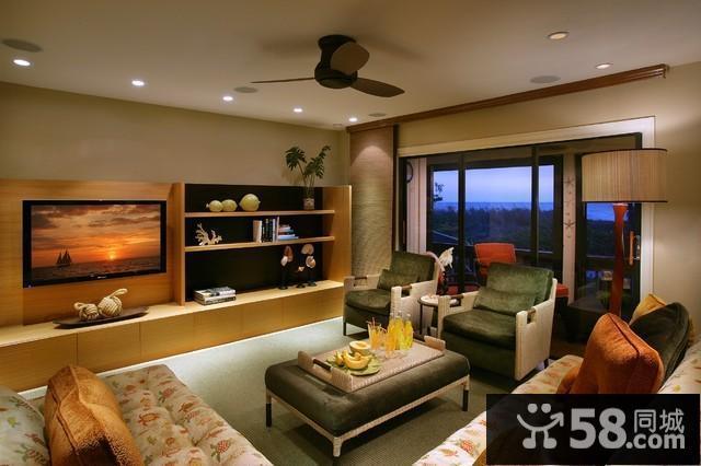 家庭客厅吊顶设计
