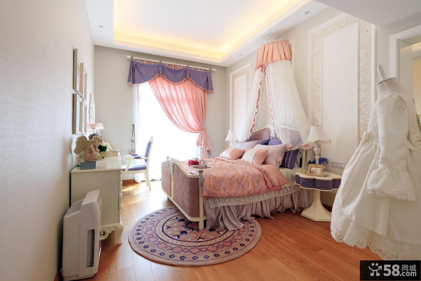 美式别墅时尚卧室图片大全