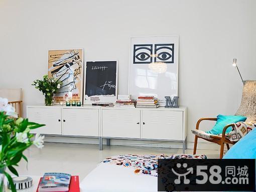 客厅软包电视背景墙效果图
