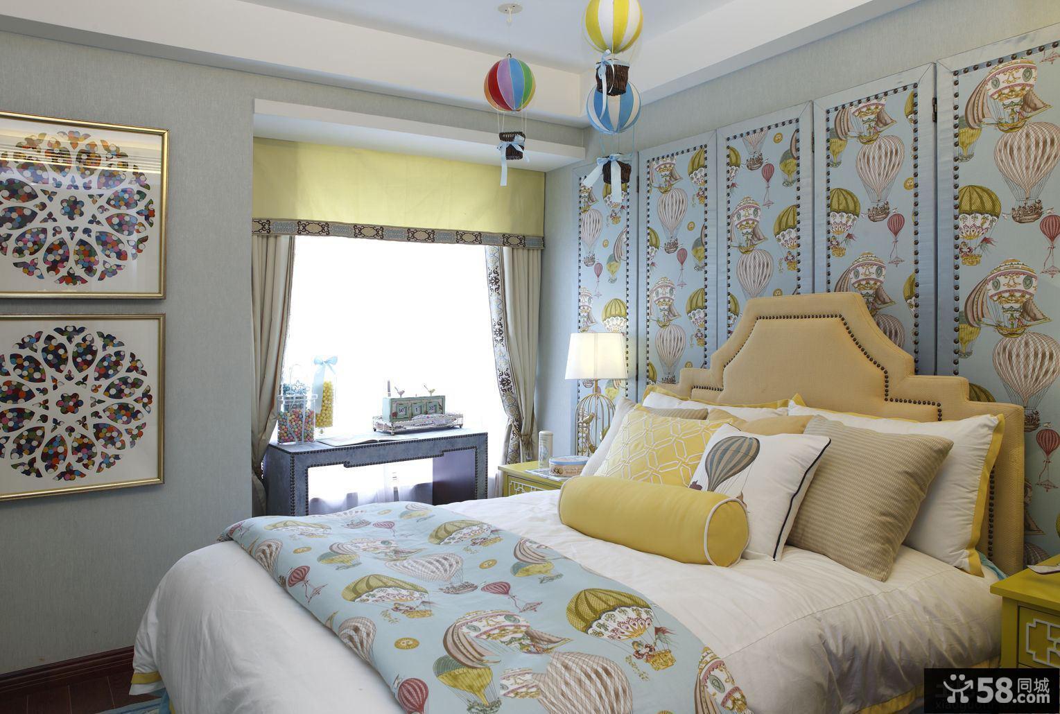中式家居小飘窗卧室装修图片欣赏