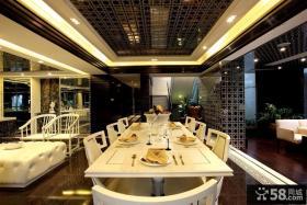 2013最新现代家庭餐厅装修效果图欣赏