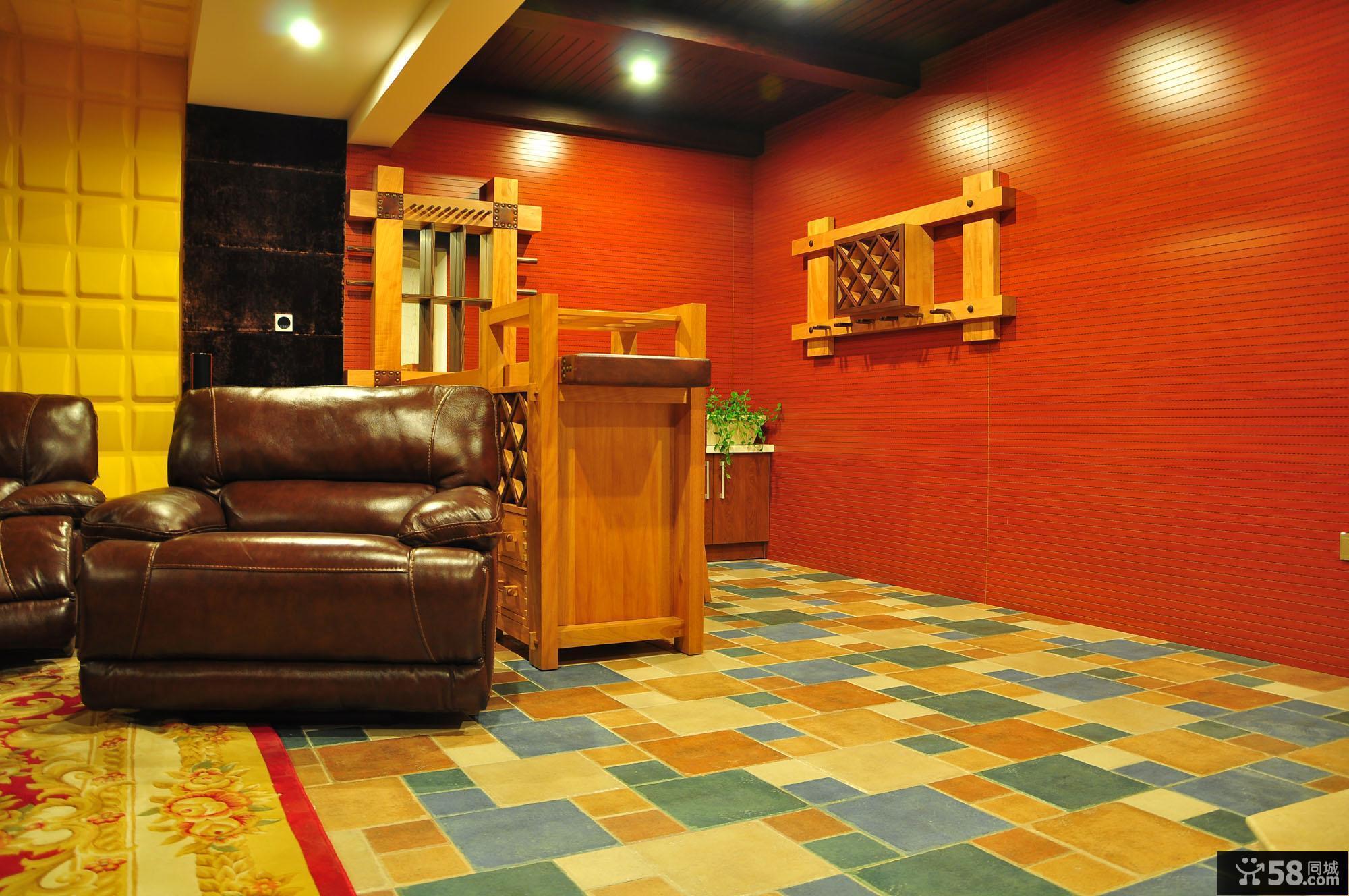 混搭色彩地板砖拼花贴图欣赏