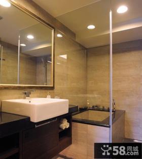 中式家装室内卫生间设计图片
