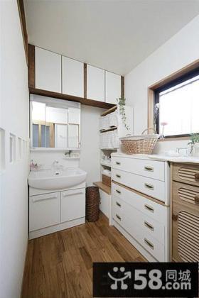 日式设计阁楼卫生间图片大全