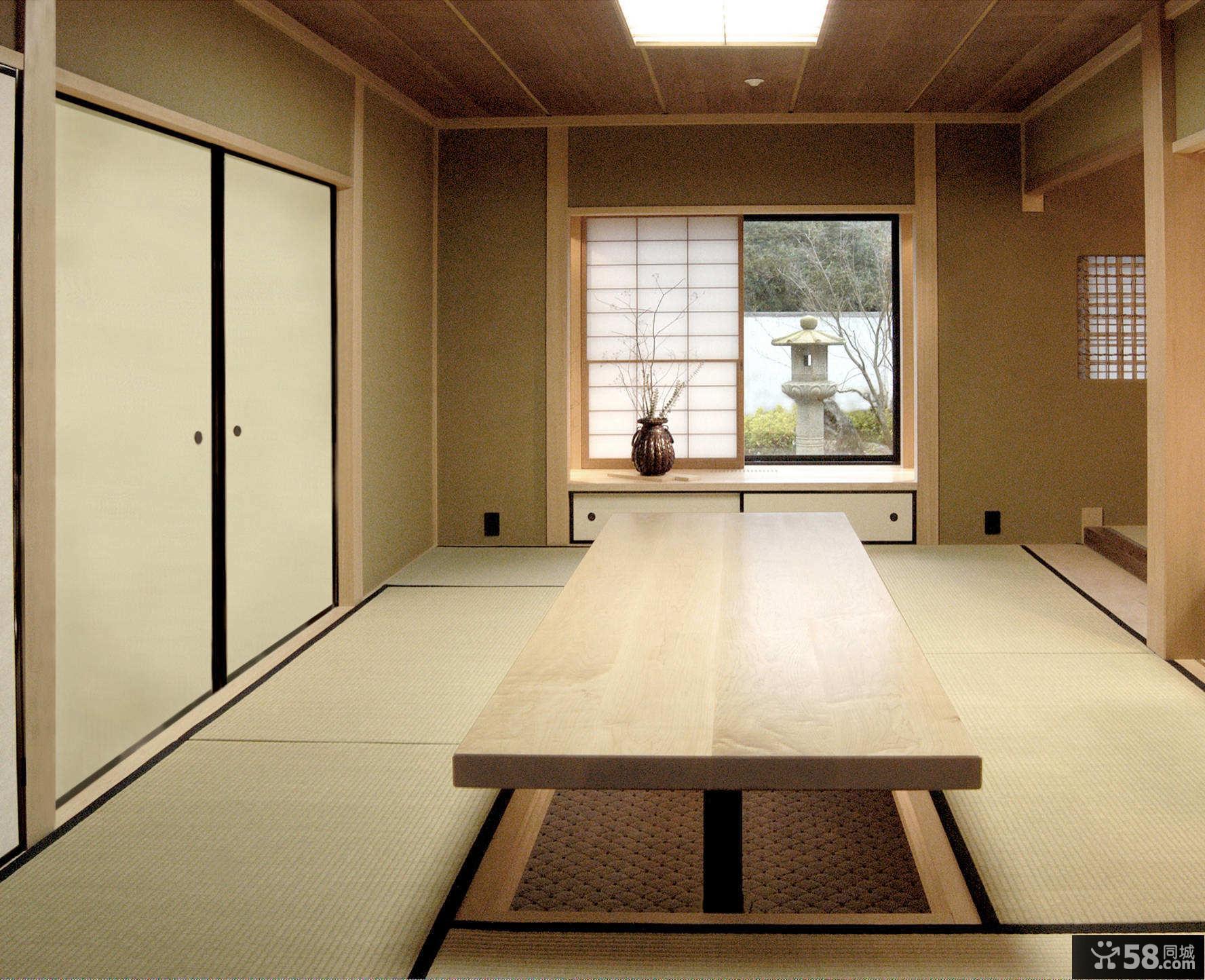 复式中式家装效果图