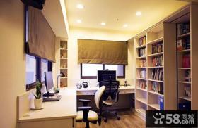 家居设计室内最新书房