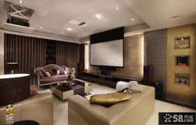 最新现代家居客厅装修效果图