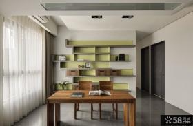 简约装饰室内书房设计效果图