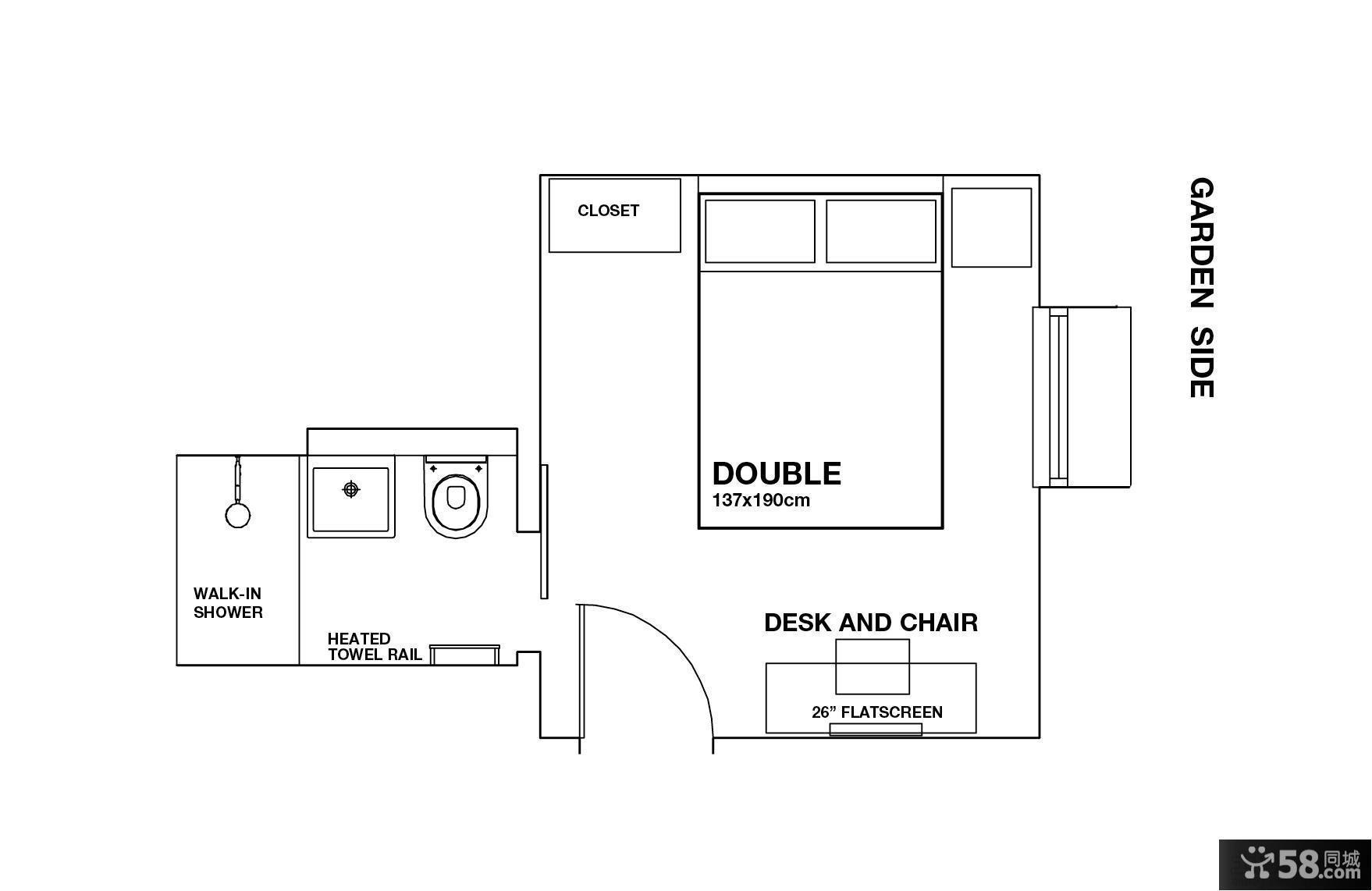 小房间设计平面图