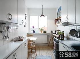 混搭北欧风格家居厨房装修效果图大全