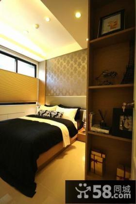 现代风格公寓卧室内图片