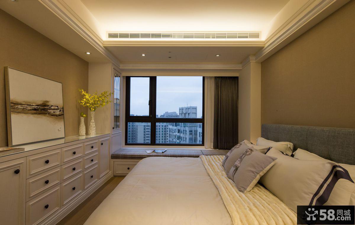 美式设计时尚卧室图片大全