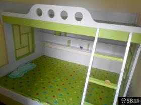 双层实木儿童床图片大全