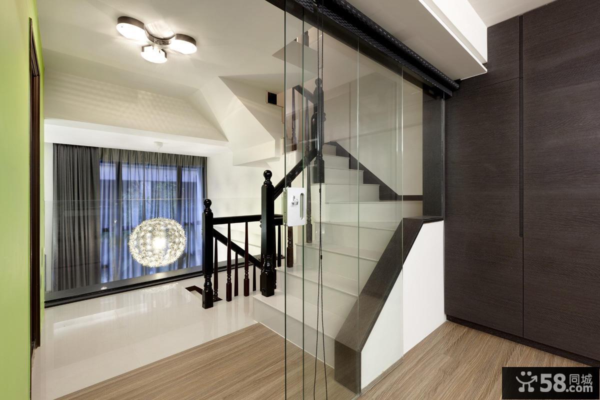 现代家居楼梯装修展示