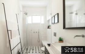 简单设计装修室内卫生间图片