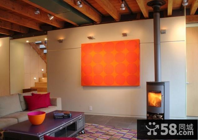 电视瓷砖背景墙效果图