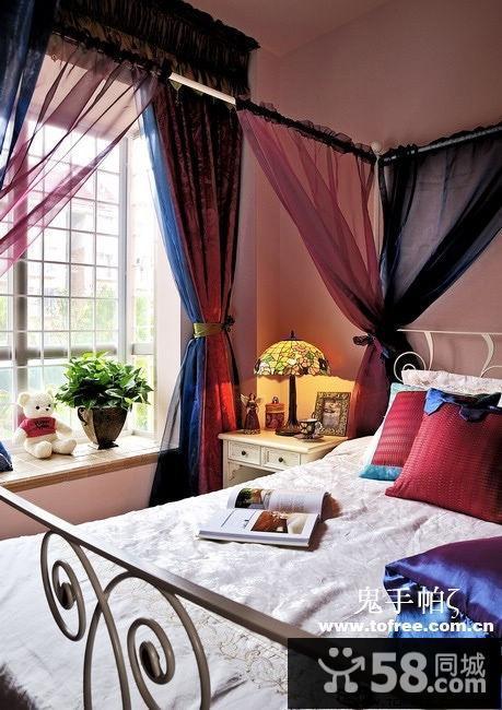 小户型卧室和客厅隔断