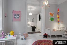北欧儿童房间设计效果图